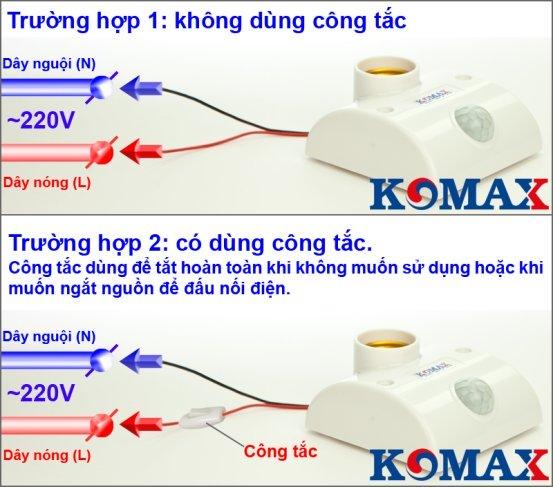 Hướng dẫn sử dụng đui đèn KM-S15