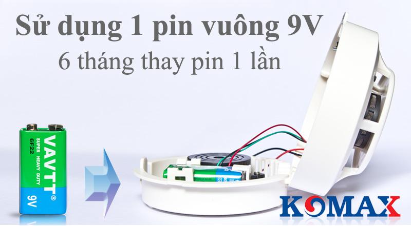 Pin sử dụng cho đầu dò báo cháy KM-S52W