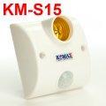 Đui đèn cảm biến chuyển động KM-S15