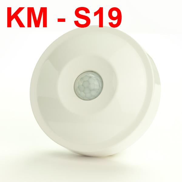 Cảm ứng hồng ngoại gắn trần KM-S19
