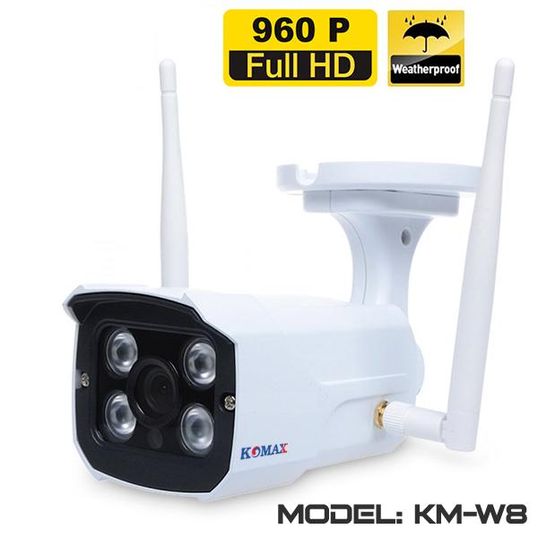 Camera wifi HD ngoài trời KM-W8