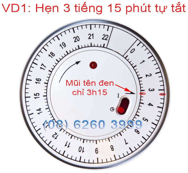 Cách hẹn giờ của TG-01D