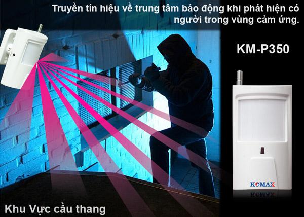 Mắt hồng ngoại chống trộm KM-P350