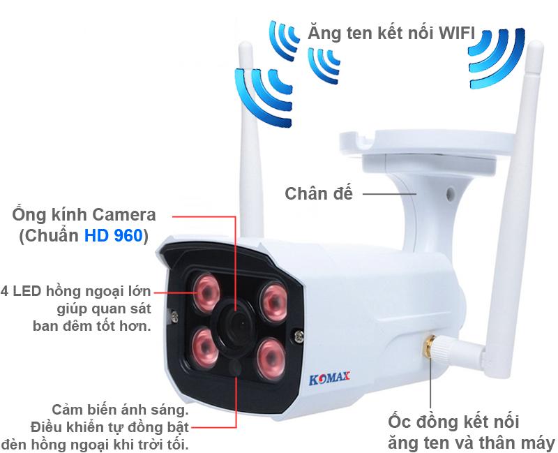 Camera ngoài trời KM-W8