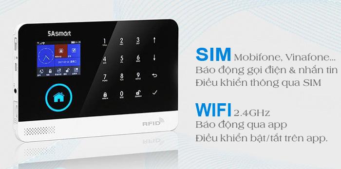 Báo Trộm Cao Cấp 5A-F10 thông minh có thể giúp bạn bảo vệ ngôi nhà mọi lúc, mọi nơi. Khi phát hiện có sự đột nhập hệ thống báo động của GW02 sẽ phát âm thanh báo ngay tại địa điểm lắp đặt và đồng thời gọi điện thoại và nhắn tin cho bạn biết về sự cố đang xảy ra