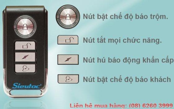 Chức năng của Remote điều khiển từ gắn cửa chống trộm KM-C05