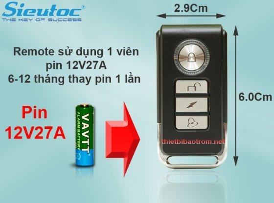 Pin dùng cho remote của KM-C05