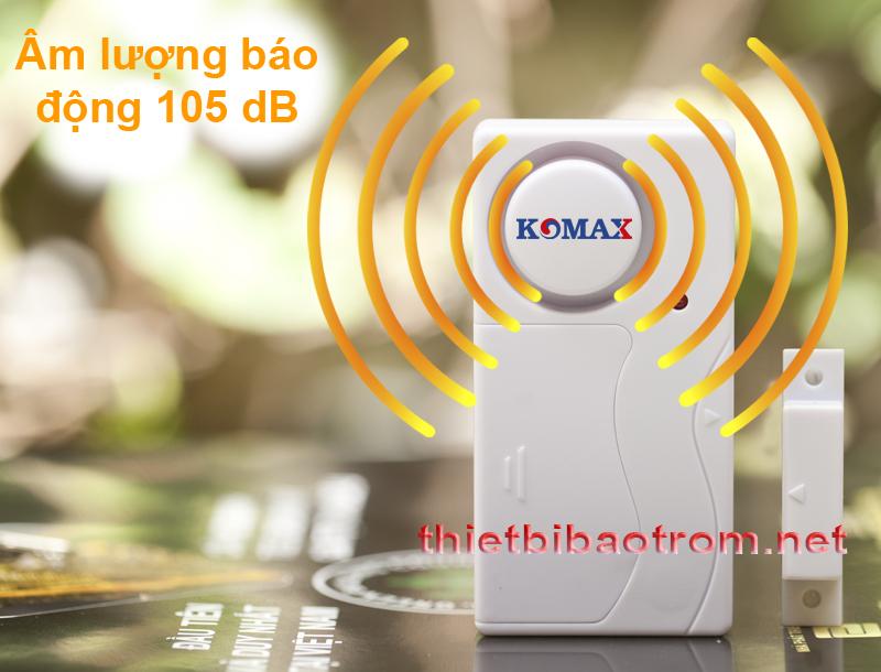 Âm lượng hú báo động của KM-RC25