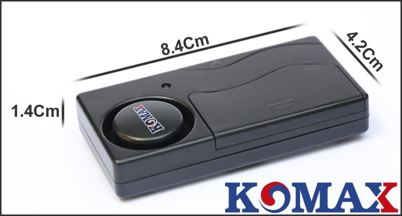 Kích thước cảm biến rung chống trộm KM-R16