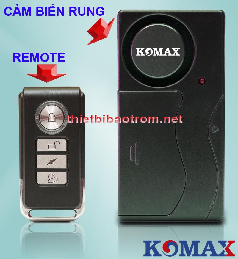 Chống trộm cảm biến rung KM-R16