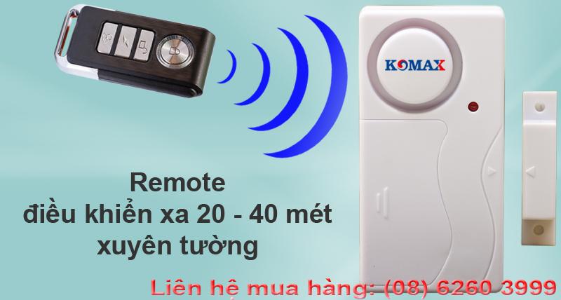 Remote điều khiển từ gắn cửa chống trộm KM-C05