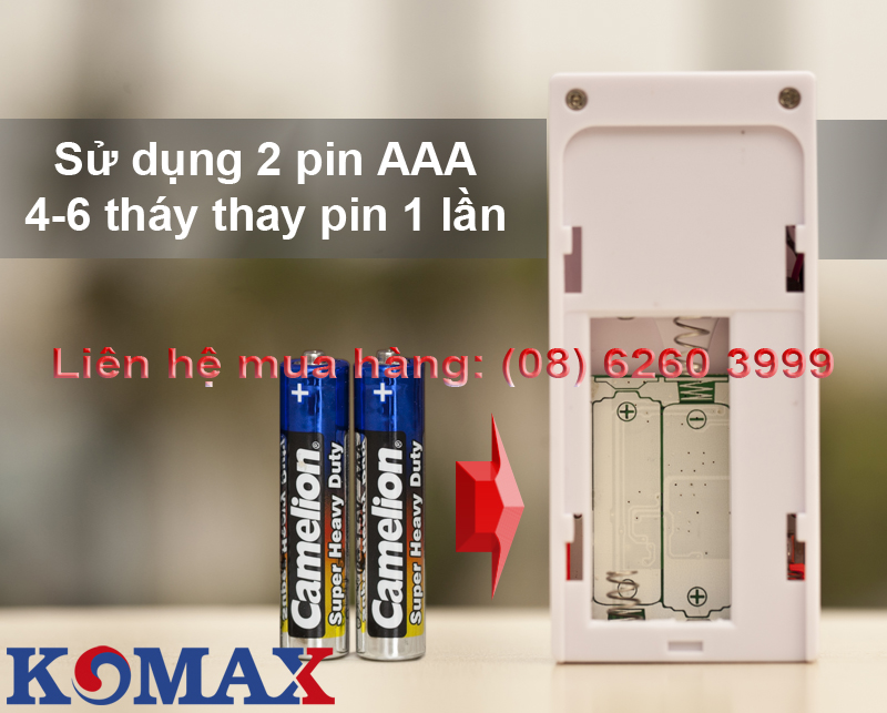 Pin dùng cho KM-RC28
