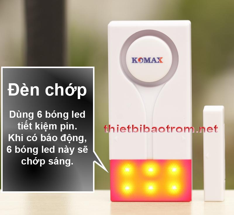 Đèn chớp bằng led của từ chống trộm KM-RC28