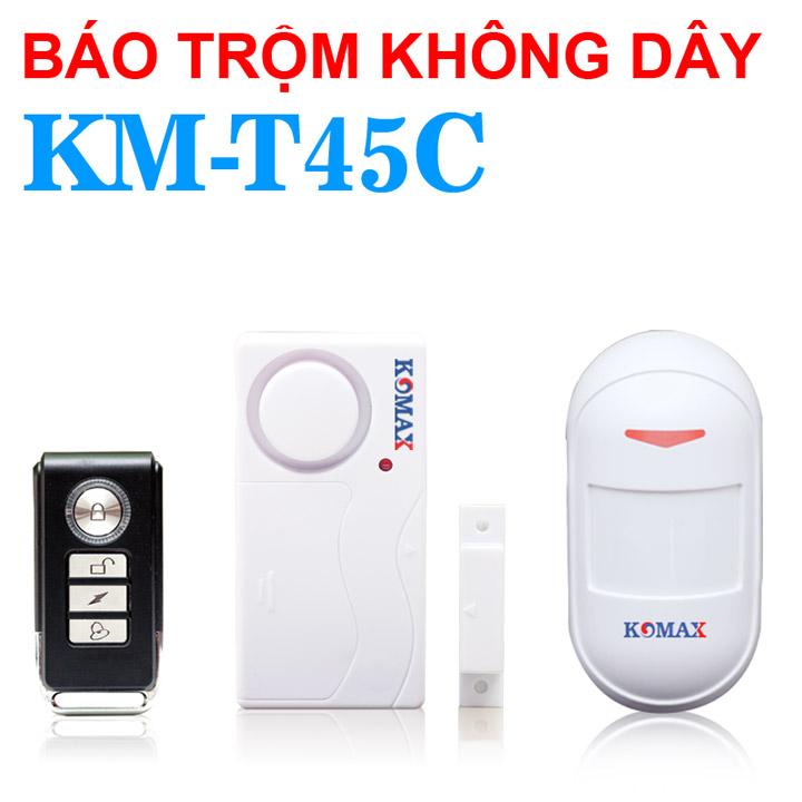 Trọn bộ chống trộm dùng pin KM-T45C