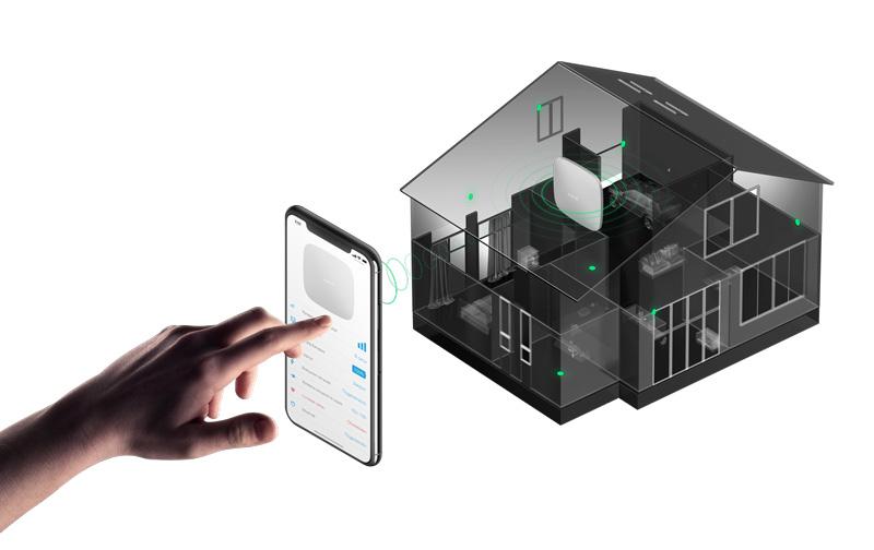 - 1 Bộ xử lí trung tâm Ajax (Hub): Có khả năng theo dõi hoạt động của tất cả các cảm biến AJAX và sẽ gửi tín hiệu báo động đến chủ nhà ngay lập tức khi phát hiện có sự đột nhập.