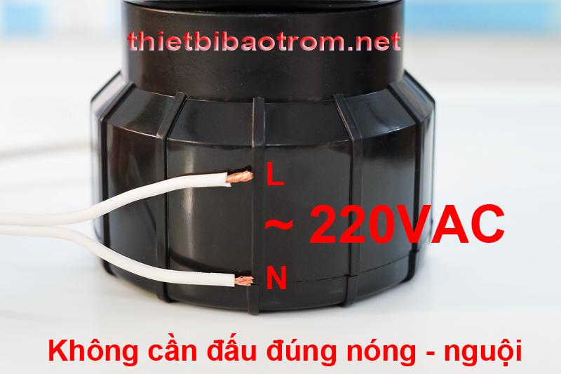 Nguồn cung cấp cho còi hú công suất lớn KM-AC100W