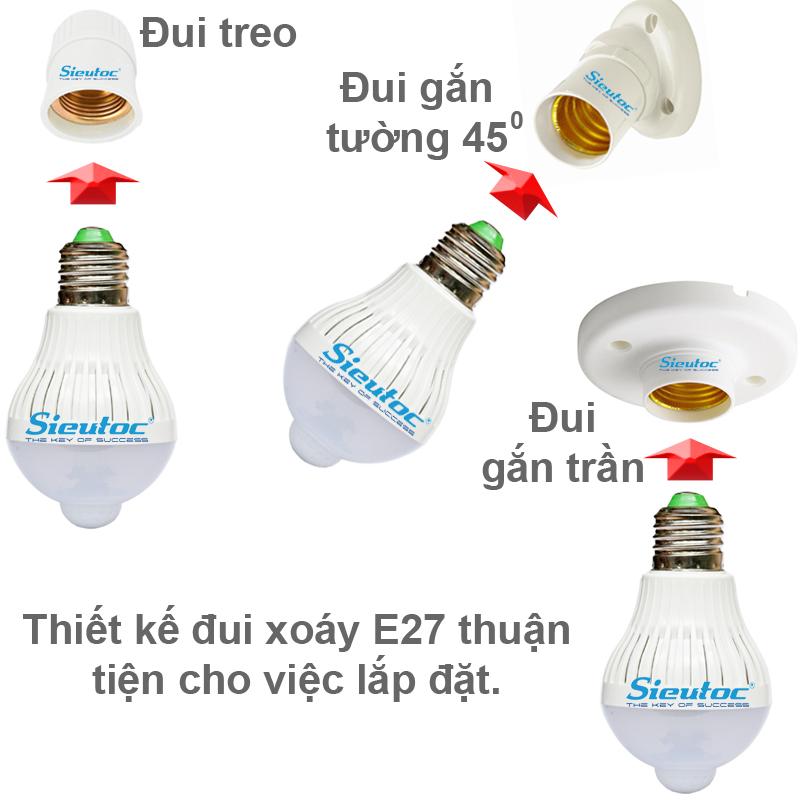 Cách dùng bóng led cảm ứng PG-069B