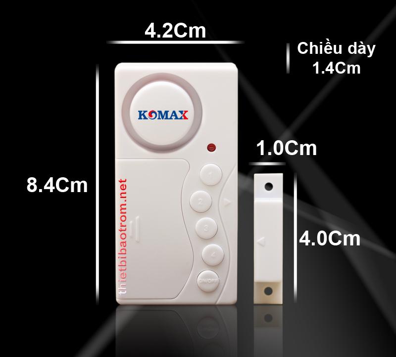 Kích thước công tắc từ chống trộm KM-C03