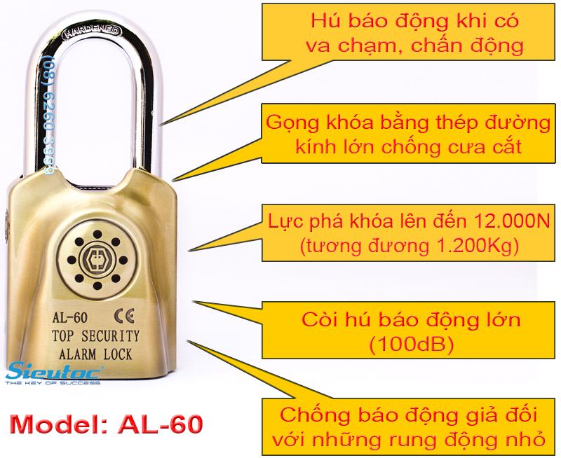 Các chức năng cơ bản của GOOD AL-60