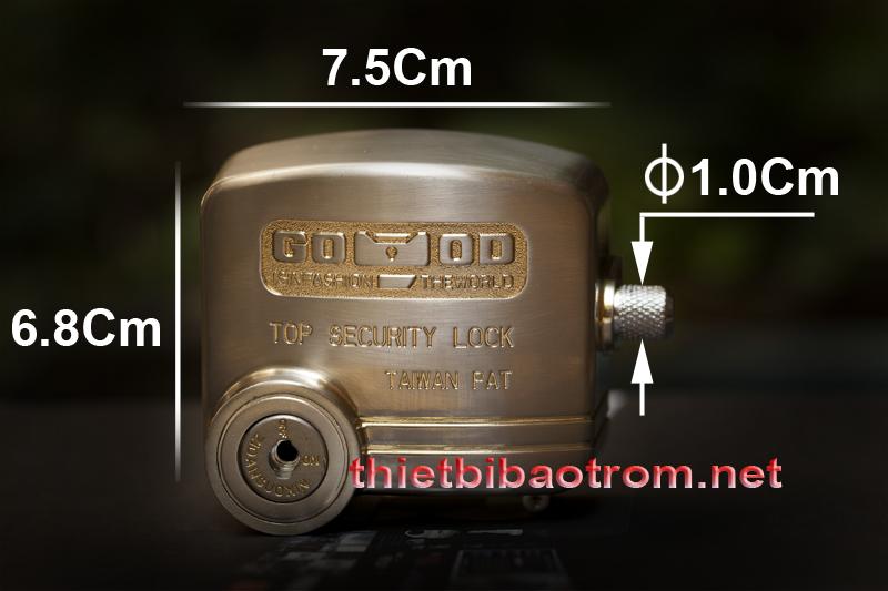 Kích thước của khóa chống cắt D5-70