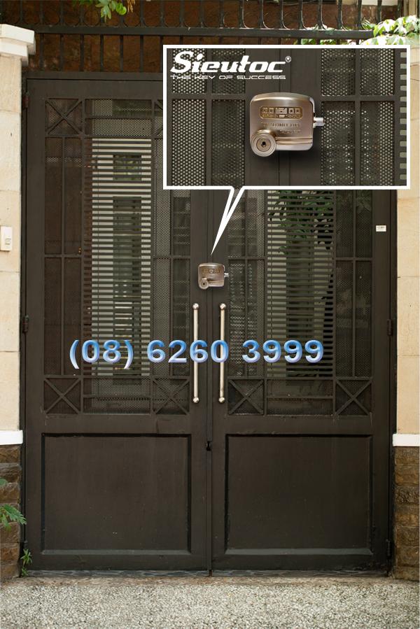 Cách dùng khóa chống trộm D5-70 khóa cửa nhà