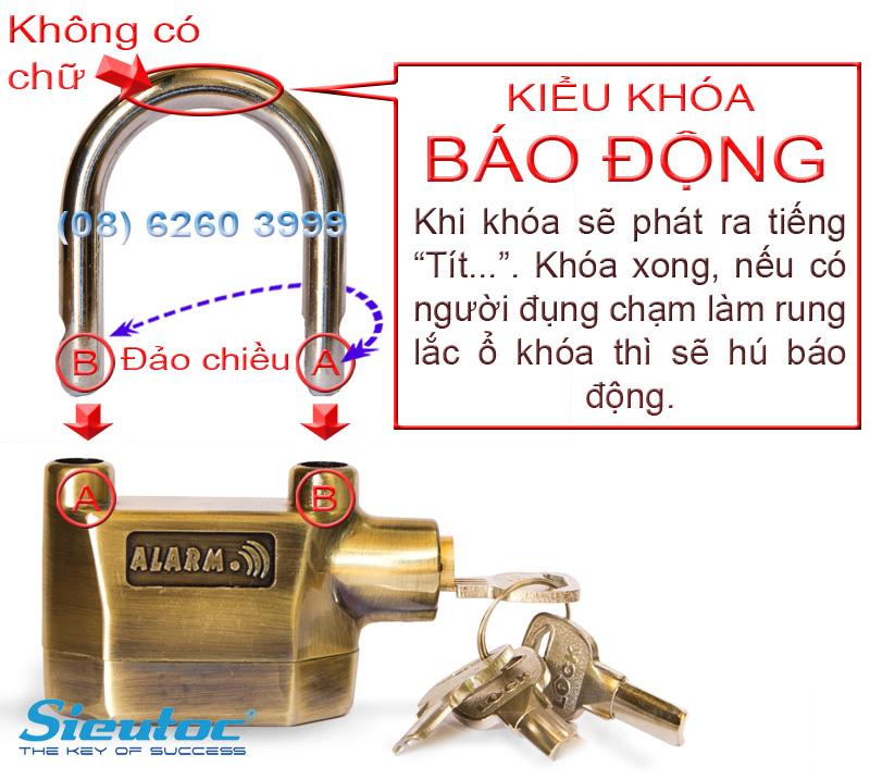 Cách khóa báo động của KB-106C