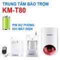 Trung tâm chống trộm KM-T80