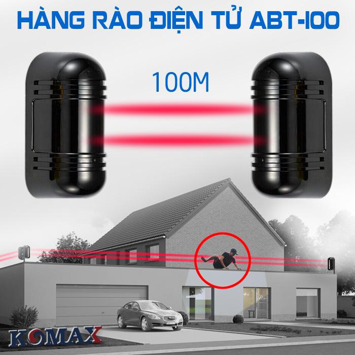 Thiết bị chống trộm ngoài trời Photo beam ABT-100