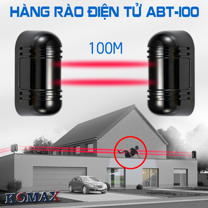 Hàng rào điện tử chống trộm Photo beam ABT-100