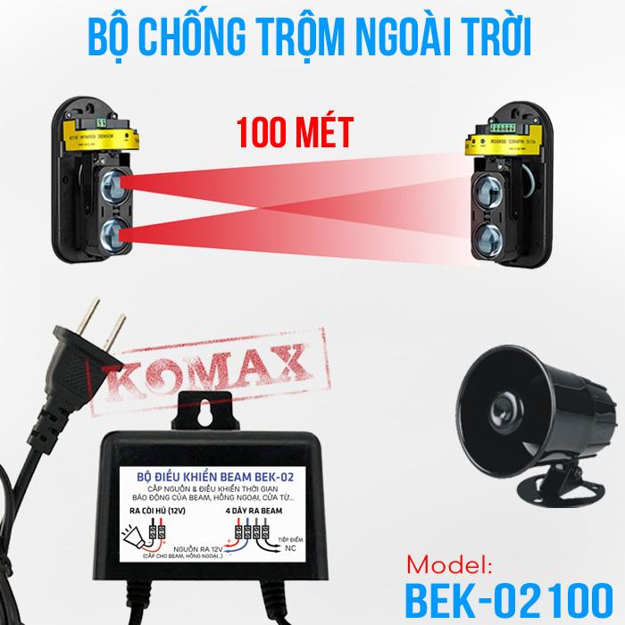 Thiết bị chống trộm ngoài trời độc lập BEK-02100