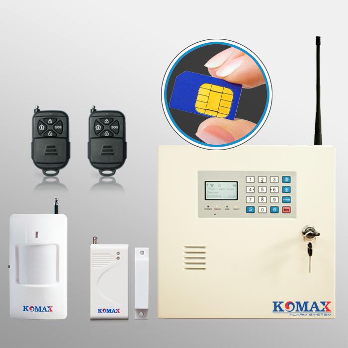 Bộ chống trộm dùng sim kèm phụ kiện KM-999GSM