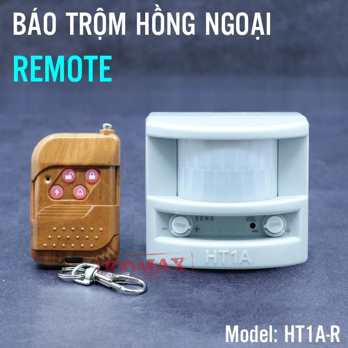 Báo trộm báo khách hồng ngoại  HT1A kèm remote
