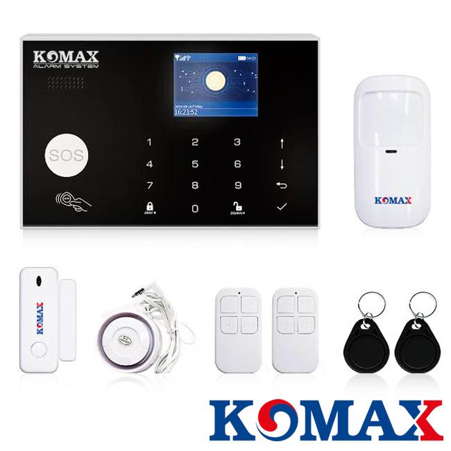 Bộ báo trộm dùng Wifi GSM KM-G30