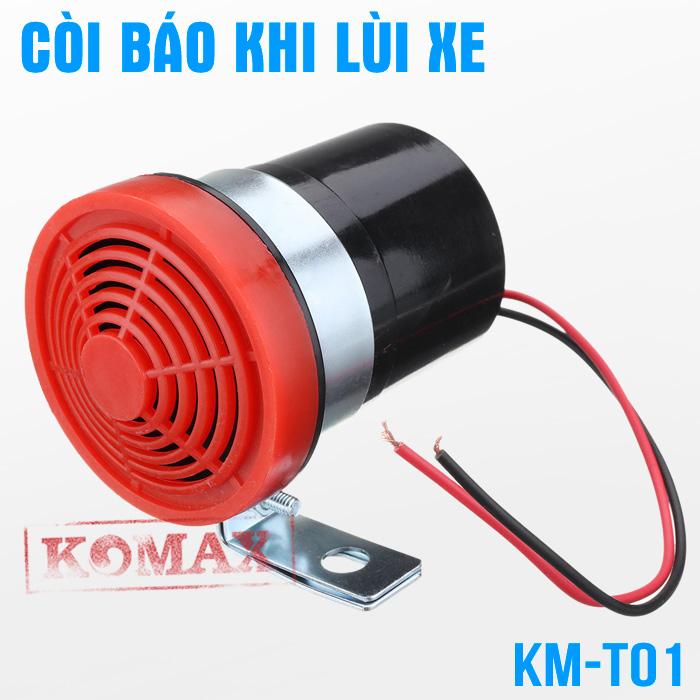 Còi bíp lùi xe tải xe nâng KM-T01