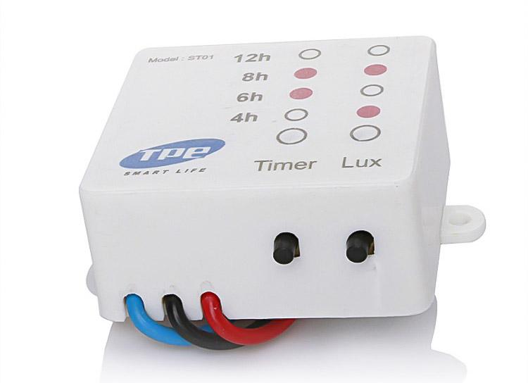 Công tắc cảm quang tắt mở đèn tự động ST01