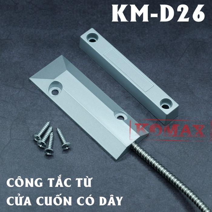 Công tắc từ cửa cuốn có dây KM-D26