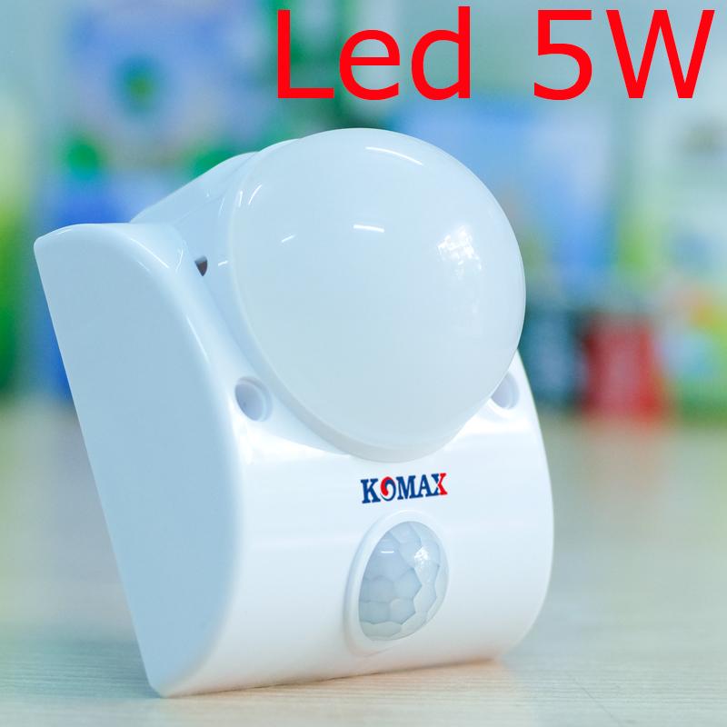Đèn led cảm biến hồng ngoại gắn tường KM-S15N