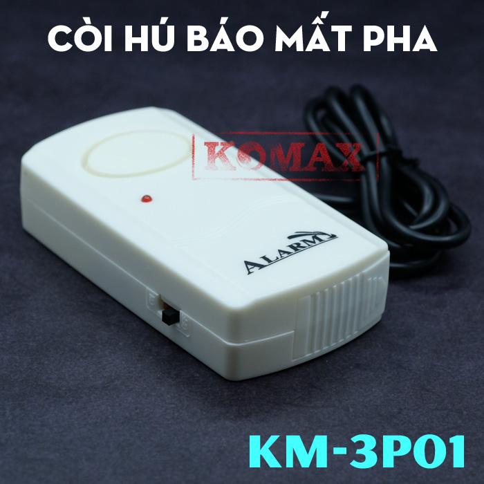 Thiết bị bảo vệ động cơ 3 pha KM-3P01
