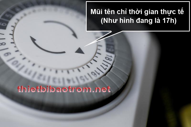 Cách sử dụng timer TG-30M