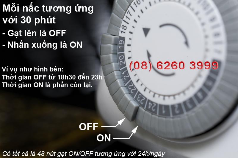 Cách dùng timer TG-30M