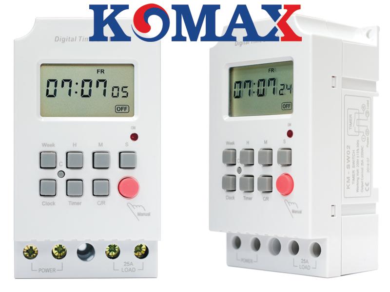 Timer hẹn giờ công nghiệp KM-SW02